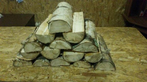 дрова береза